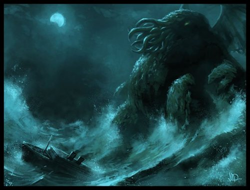 Monsters At Home Cthulhu