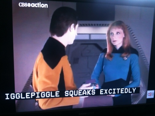 On the Enterprise-D, Beverley was furious that Picard's special nickname for her had become common knowledge
