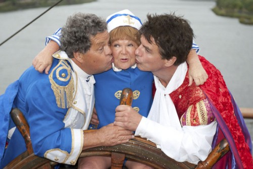 The Krankies and John Barrowman