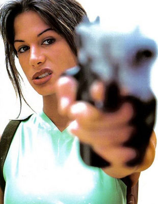 Rhona Mitra as Lara Croft